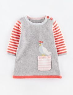 Fun Pocket Knitted Dress 71431 Dresses at Boden