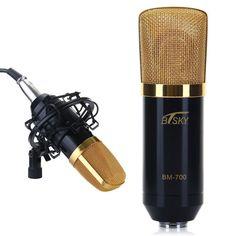 Condenser Microphone,ideal for radio broadcasting studio, voice-over sound studio, recording - www.remix-numerisation.fr - Rendez vos souvenirs durables ! - Sauvegarde - Transfert - Copie - Digitalisation - Restauration de bande magnétique Audio - MiniDisc - Cassette Audio et Cassette VHS - VHSC - SVHSC - Video8 - Hi8 - Digital8 - MiniDv - Laserdisc - Bobine fil d'acier - Digitalisation audio