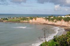 Praia de Tabatinga. Mirante dos Golfinhos
