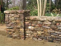 stacked stone walls