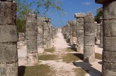 Chichen Itza - This sacred site was one of the greatest Mayan centres of the Yucatán peninsula Maya Civilization, Aztec Ruins, Seven Wonders, Days Of The Year, Archaeological Site, Cancun, Belize, Wonders Of The World, Mount Rushmore
