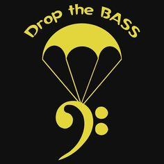 Drop the Bass by Samuel Sheats on Redbubble. Available as T-Shirts & Hoodies, iPhone Cases, Samsung Galaxy Cases, Home Decors, Tote Bags, Kids Clothes, iPad Cases, and Laptop Skins. #bass #bassguitar #music #humor