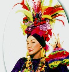 carmen miranda - Temple Of Plume fruit hat coming soon Carmen Miranda, Hat Day, Cool Halloween Costumes, Halloween 2014, Cool Hats, Red Hats, Wedding Moments, Headdress, Vintage Posters