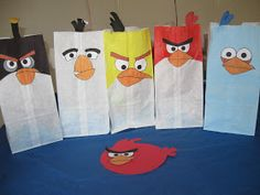 The Brown Eyes Have It: Angry Birds Birthday Party