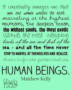 Matthew Kelly Catholic quote