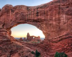 Turret Arch at Arches National Park Utah, USA