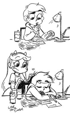 Star Vs The Forces Of Evil - Star and Marco