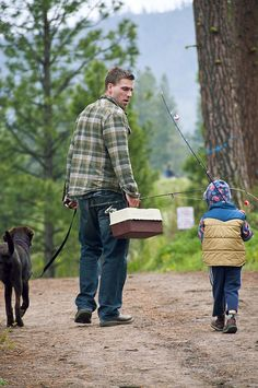 Father son bonding, love that they took the dog too! Father Son Photos, Fathers Day Photo, Fathers Love, Father And Son, Mother Son, Family Portraits, Family Photos, Father Son Photography, Fishing Holidays