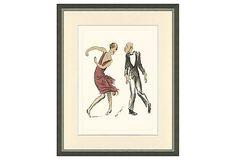 French Dancers Print I on OneKingsLane.com