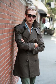 perfect jacket // #trench #fallstyle