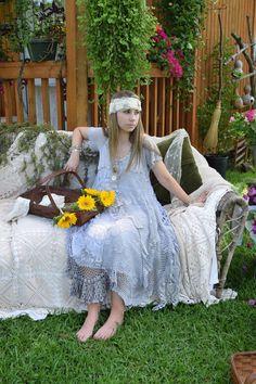 ON SALEmother of bride crochet dress Luv by BlackCrowLeatherCo