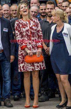 Europe's Royals — victorysp: 08/06/2017 Queen Máxima of the...