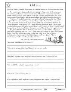 Sixteen reading worksheets on three pages for primarily 4-5 grades, with a few for lower grades. Great time saver!