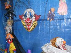 Halloween Decorations 2013-- Inside the carport-1