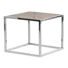 Open Cube Metal Side Table http://www.la-maison-chic.co.uk/Item/Open_Cube_Metal_Side_Table