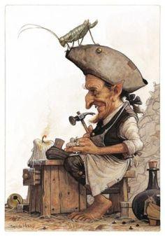 Gnomes, lutins, farfadets, korrigans...