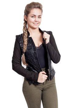 Women's Punk PU soft Leather Motorcycle Zipper collar Coat Biker Jacket Outwear