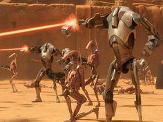 The Battle of Geonosis Star Wars Amino