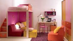 little girls, kid bedrooms, kids room design, color, bunk beds, kid rooms, childs bedroom, bedroom designs, girl rooms