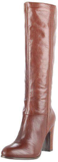 Nine West Women's Magic Boot  Cognac Leather