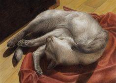 Let Sleeping Kitties Lie by Pat Erickson