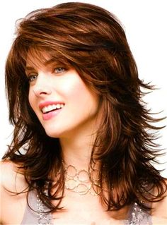 straight-hairstyles-are-easy - Fab New Hairstyle 1 Long Layered Haircuts, Haircuts For Long Hair, Straight Hairstyles, Layered Hairstyles, Mom Hairstyles, Feathered Hairstyles, Black Hairstyles, Beautiful Hairstyles, Medium Hair Styles