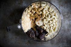 Homemade healthy energy bars  http://food52.com/blog/9778-how-to-make-no-bake-fruit-and-nut-bars-at-home