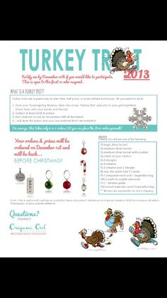 Turkey trot fun - message me for details!