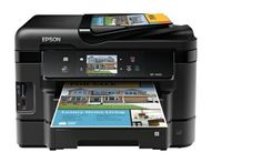 Epson WorkForce WF-3540 Wireless All-in-One Color Inkjet Printer, Copier, Scanner, 2-Sided Duplex, ADF, Fax. Prints from Tablet/Smartphone. AirPrint Compatible (C11CC31201) World's Fastest 2-sided printing. 500-sheet paper capacity. 40% lower printing costs vs color laser. Mobile device printing. 3.5-Inch touchscreen with gesture navigation.
