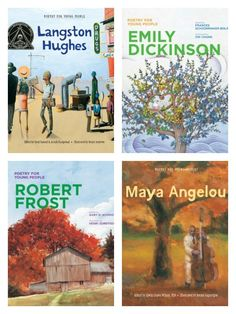 Must-have poetry books for young readers: the Poetry for Young Readers series featuring Langston Hughes, Emily Dickinson, Robert Frost, Maya Angelou