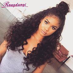 Rongduoyi Loose Curly Wave Lace Front Human Hair Wigs Glu... https://www.amazon.com/dp/B01NH7JWEN/ref=cm_sw_r_pi_dp_x_Y5bGybWR7G3PC