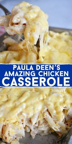 Best Chicken Casserole, Easy Casserole Recipes, Chicken Spaghetti Casserole, Chicken Casserole With Stuffing, Casseroles With Chicken, Quick Casseroles, Casserole Ideas, Lasagna Casserole, Chicken Broccoli Casserole