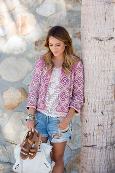 Embellished Jacket - Gal Meets Glam