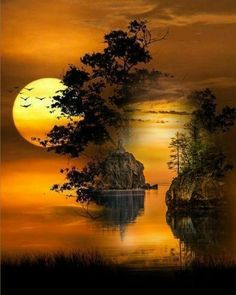67 ideas for mother nature photography beauty water Moon Pictures, Nature Pictures, Pretty Pictures, Beautiful Moon, Beautiful World, Beautiful Images, Landscape Photography, Nature Photography, Landscape Pics