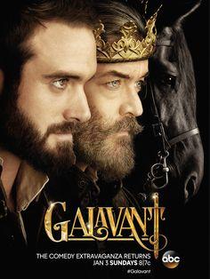 #Galavant - Season 2 Poster-aw heck yes I'm so ready for season 2