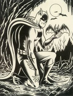 Batman — Charles Burns