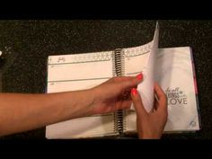 New 2015-2016 Erin Condren Life Planner Horizontal Layout Unboxing and Review by JenPlans - YouTube