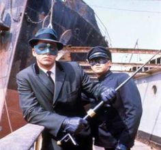 The Green Hornet and Kato (Bruce Lee)