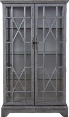 Swansboro Gray Curio. Curio CabinetsChina ...