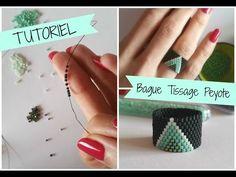 Tutoriel de tissage de perles en brick stitch (français) - YouTube