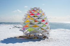 Kinetic Snowcone as a Lifeguard Post – Fubiz™