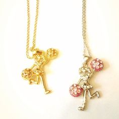 A necklace for your little cheerleader #necklaces #jewelry #fashionkids #fashion #cheerleader