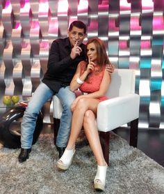 Joselyn Juncal en Secreto a Voces de Bandamax con Pancho Barraza