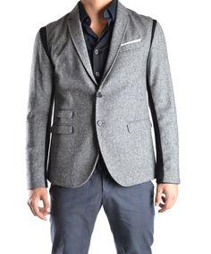 NEIL BARRETT Neil Barrett Men'S Mcbi220049O Grey Wool Blazer'. #neilbarrett #cloth #coats & jackets