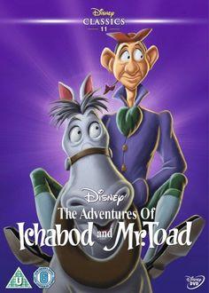 Disney Classic - The Adventures Of Ichabod And Mr Toad Disney Fun, Disney Movies, Disney Pixar, Disney Stuff, Sleepy Hollow, Disney Animated Classics, Disney Classics, The Lion King, Mr Toad