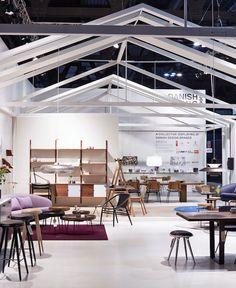 Danish Living Room Milan Designer of the stand: Tine Mouritsen Photographer: Martin Sølyst Danish Living Room, Conference Room, Table, Furniture, Design, Home Decor, Decoration Home, Room Decor, Meeting Rooms