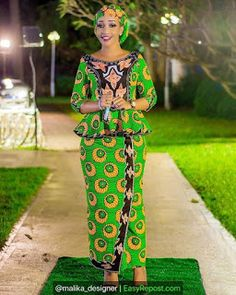 Best African Dresses, African Inspired Fashion, Latest African Fashion Dresses, African Print Fashion, African Attire, African Traditional Wear, African Print Dress Designs, Ankara Skirt And Blouse, Malm