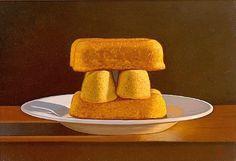 David Ligare Still Life with Cakes 2009 - still life quick heart