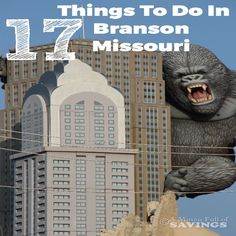 Going to Branson? Check out some awesome Things To Do In Branson Missouri