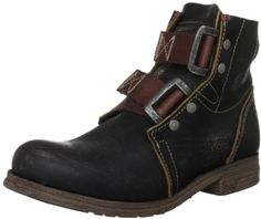 0395b2738663d FLY LONDON 'SKA' Distressed Brown Leather Biker Ankle Boots Uk 3 Eur 36 Rrp  £110
